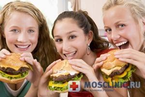 подростки склоны к ожирению из-за стресса в детсве